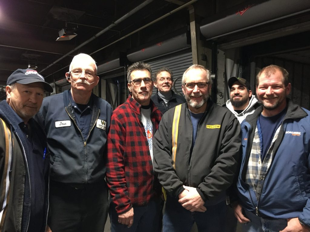 MAKING THE ROUNDS AT YRC – Teamsters Joint Council 10 New