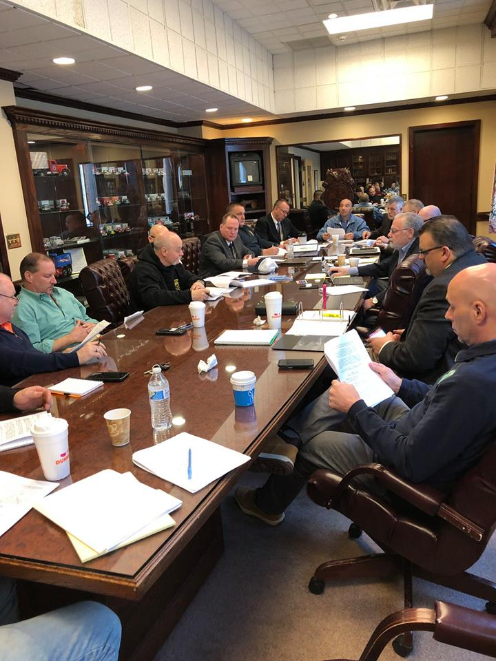 TEAMSTERS SYCSO BOSTON NEGOTIATING TEAM MEETS – Teamsters Joint