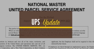 NATIONAL MASTER UNITED PARCEL SERVICE AGREEMENT