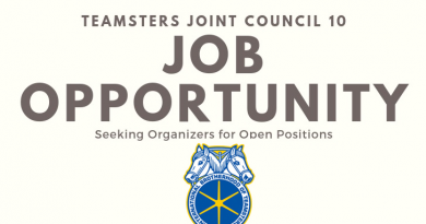 Teamsters Joint Council 10 Organizer Position